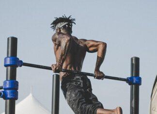 drążek i poręcz, skuteczny sposób na mięśnie